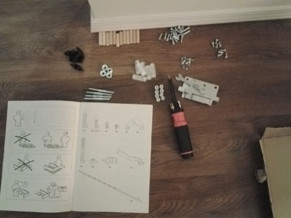Photo of IKEA instruction hell