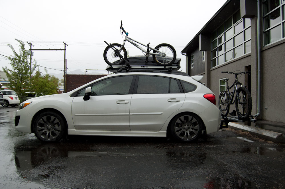 Photo of a white 2012 Subaru Impreza